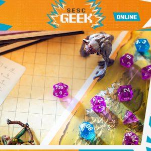 Oficina de RPG com Caio Ribeiro e Pahblo Smorcinski   Sesc Geek @ App Discord