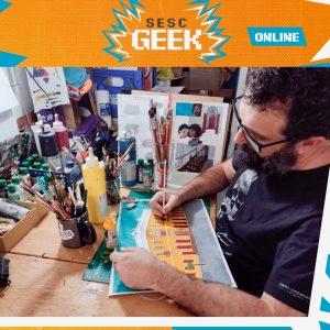 Oficina de Desenho 2D com Fábio Quill   Sesc Geek @ Google Meet