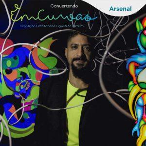 """Exposição """"Convertendo em Curvas"""" de Adriano Figueiredo @ Galeria de Artes - Sesc Arsenal"""