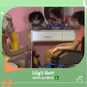 Cine Jardim - Lily's Hair @ Jardim Sesc Arsenal