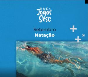 Jogos Sesc - Natação @ Sesc Poxoréu